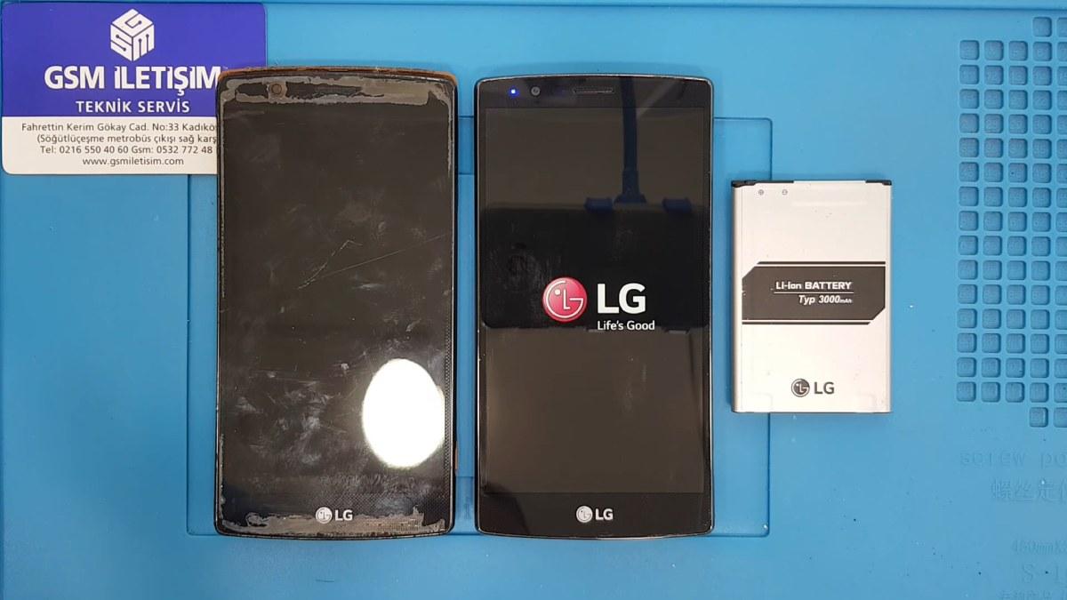 LG G4 Ekranı Kırıldı Değişimi Nasıl Yapılır