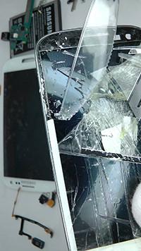 Kırık Camlı Samsung Galaxy S4