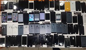 Değiştirilmiş İphone 4 Kırık Ekranları