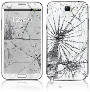 Samsung Galaxy Note 2 Kırık Ekran