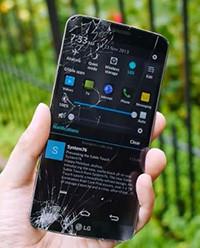 LG G Flex 2 Kırık Ekran