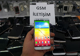 LG G2 Ekran Sararması Sorunu