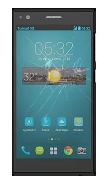Turkcell T50 Kırık Ekran