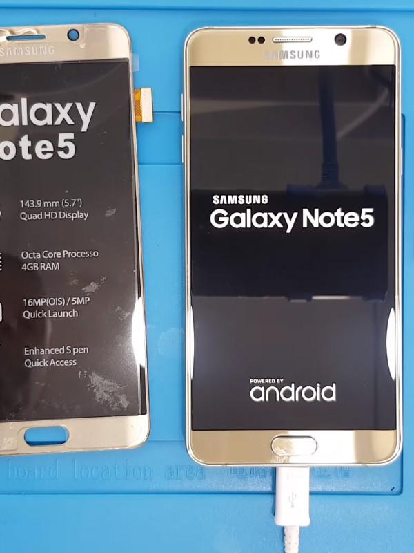 Samsung Galaxy Note 5 ekran değişimi nasıl yapılır