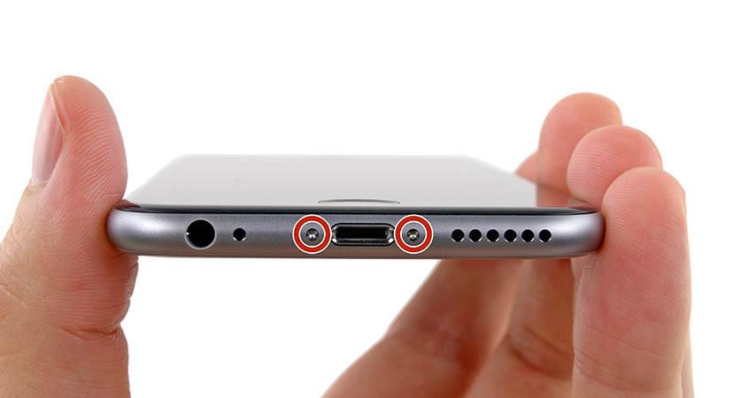 iPhone 6 Alt Bağlantı Vidaları