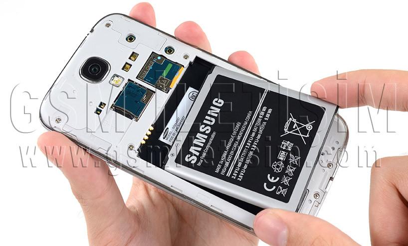 samsung galaxy s4 orjinal batarya değişimi