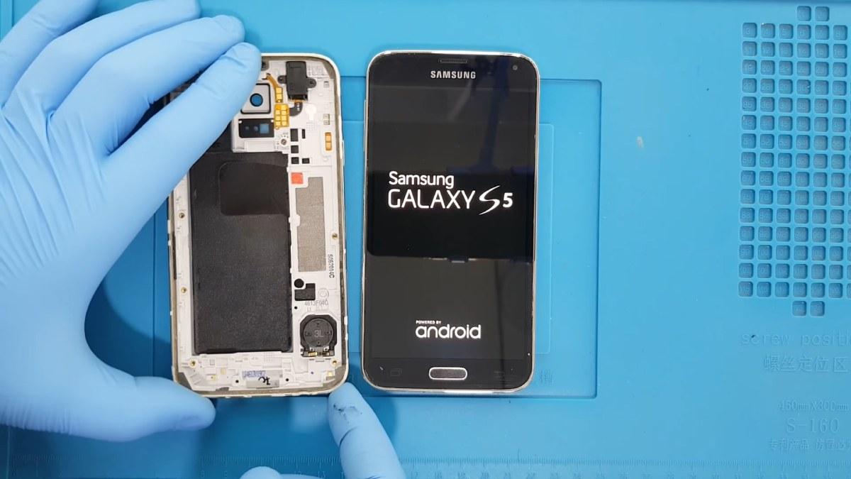 Samsung Galaxy S5 kasa değişimi nasıl yapılır