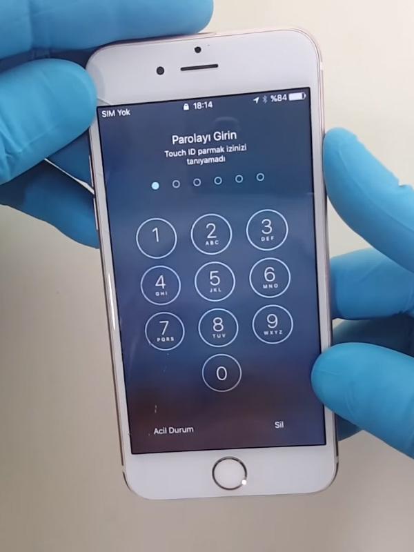 iPhone 6s Ekran Değişimi Öncesi