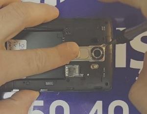 LG G4 Arka Kamera Değişimi