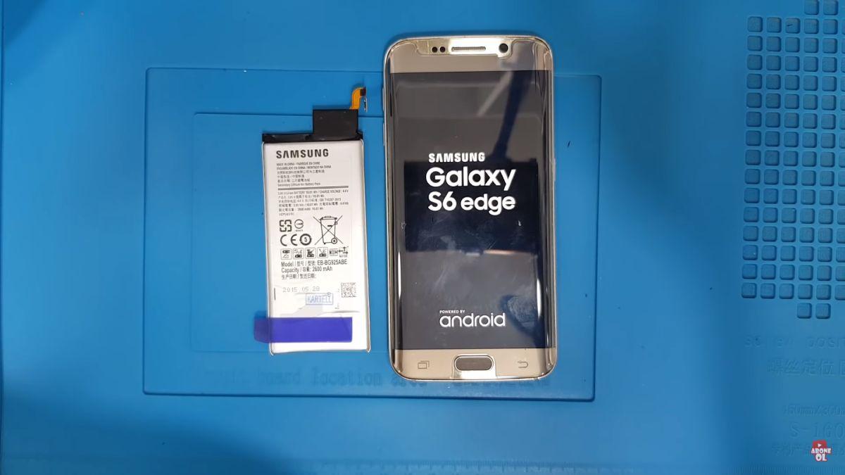 Samsung Galaxy S6 Edge batarya değişimi nasıl yapılır