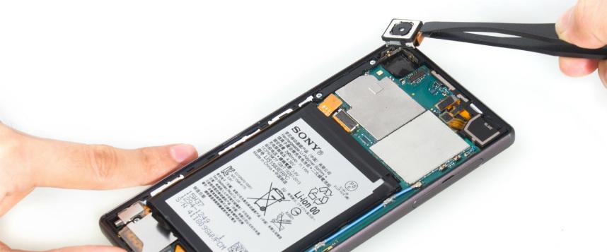 Sony Xperia Z5 Kamera Değişimi