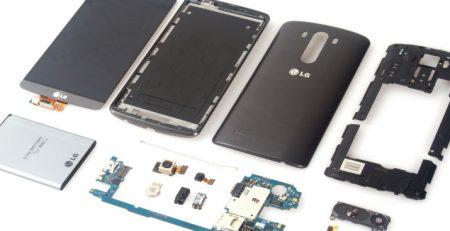 LG G3 Mikrofon Değişimi