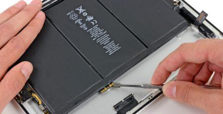 iPad 3 batarya değişimi