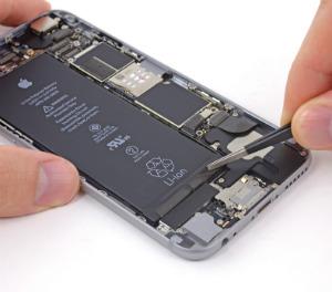iphone 6 batarya şişmesi sonrası değişimi