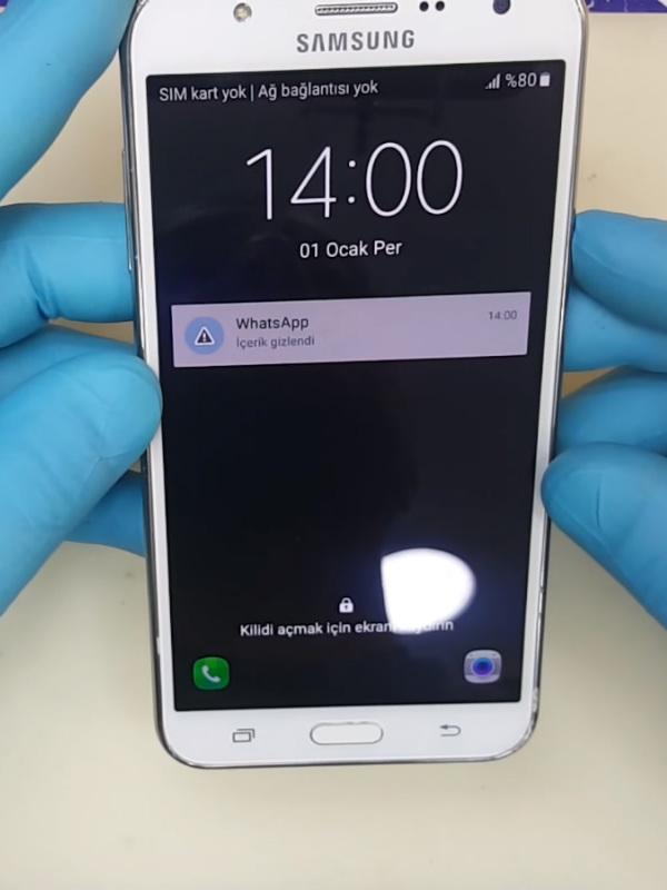 Samsung Galaxy J7 Pro Ekran Değişimi