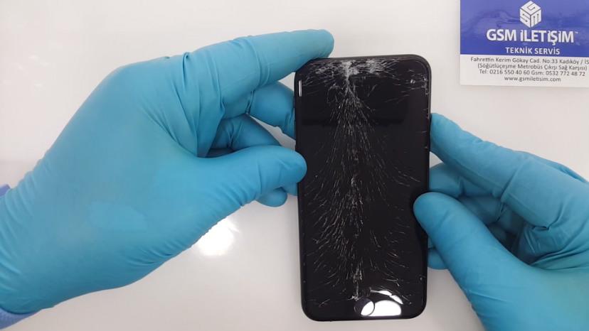 iPhone Ekranı Kırıldı Görüntü Yok