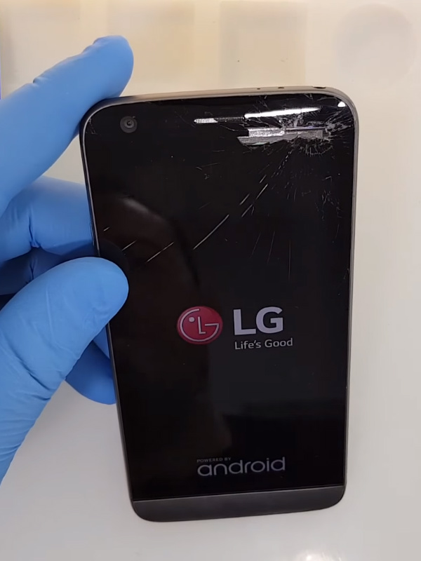 LG G5 ekran değişimi öncesi
