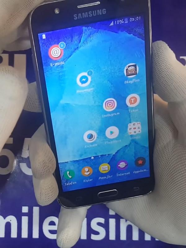 Samsung Galaxy J5 Cam Değişimi