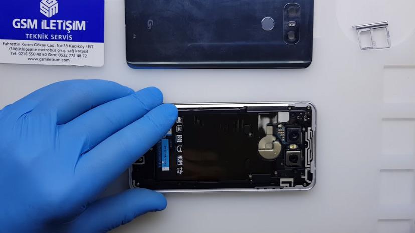 LG G6 Arka Kapak ve Kamera Camı Değişimi