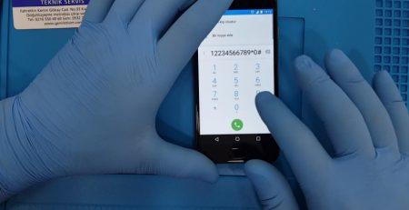 Telefonumun Seri numarasını nasıl öğrenebilirim