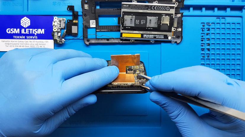 Asus Zenfone Power Tuşu Değişimi