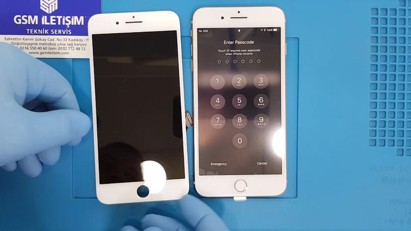 iPhone 8 Plus Kırık Ekran Değişimi