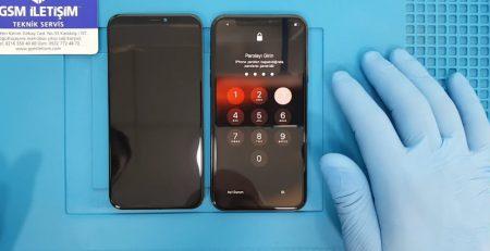 iPhone X Ekranı Kırıldı Camı Çatladı