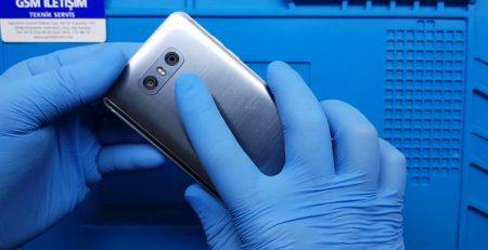 LG Arka Kamera Camı Değişimi