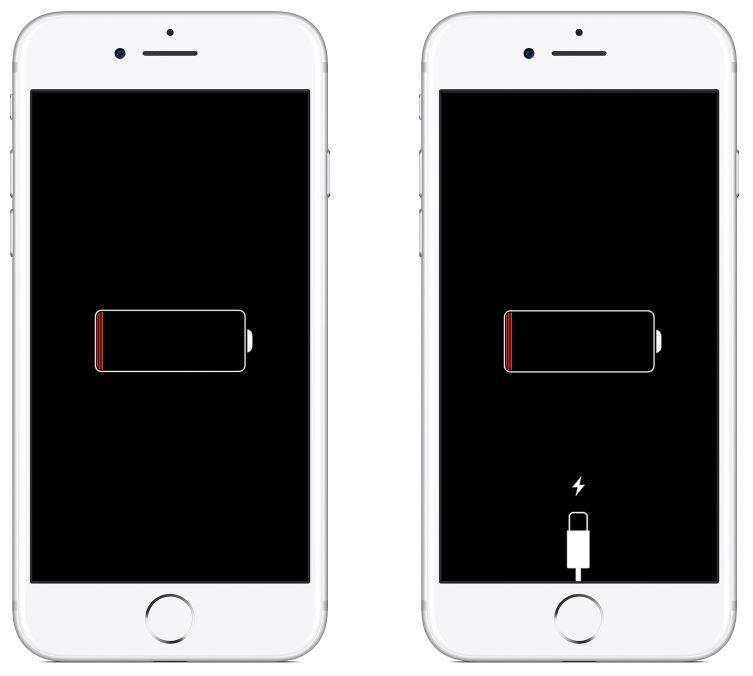 iPhone şarj olma göstergesi