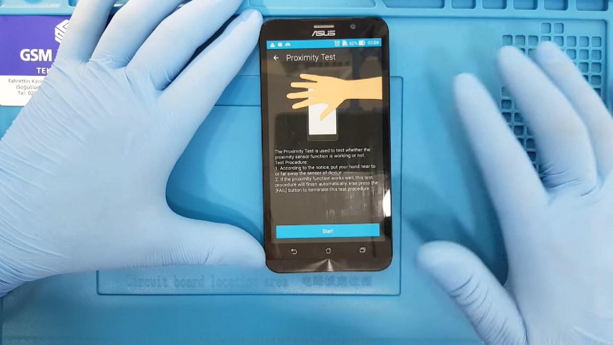 Asus Zenfone Yakınlık Sensörü Değişimi Nasıl Yapılır