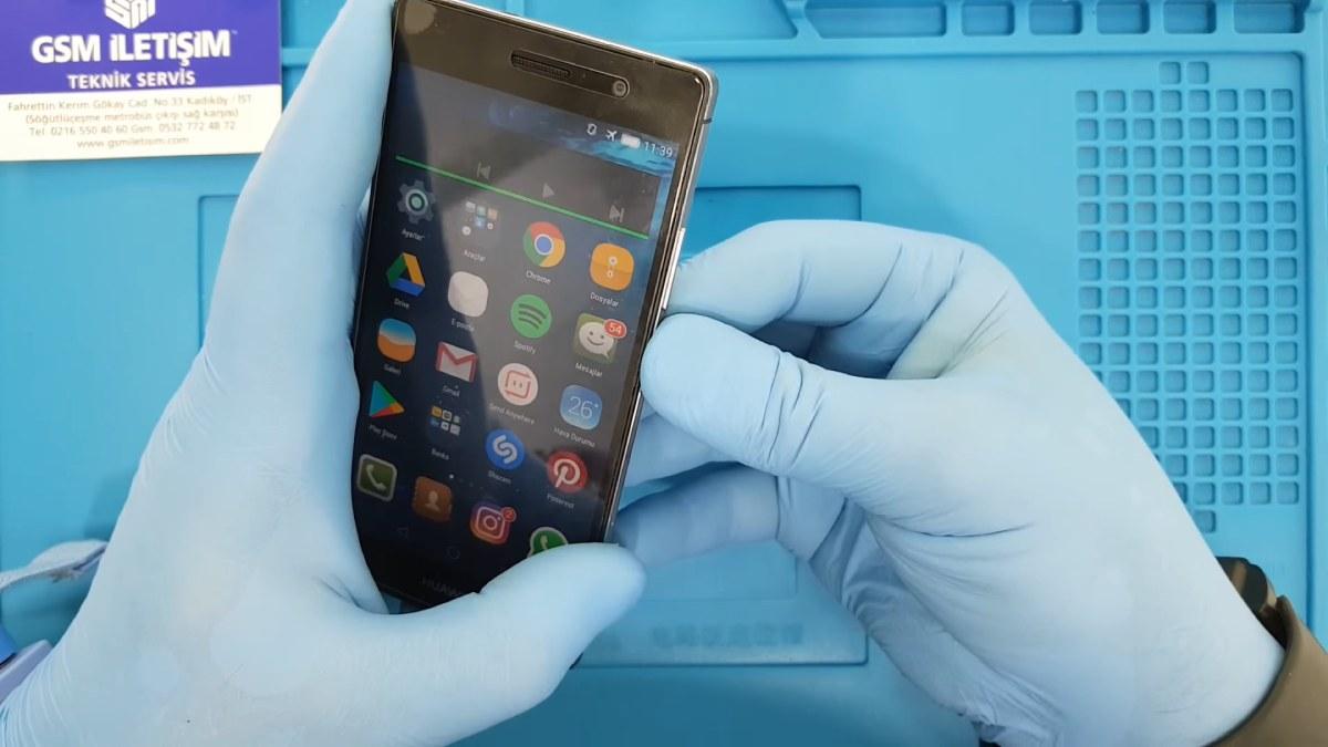 Huawei Hoparlör Değişimi Nasıl Yapılır
