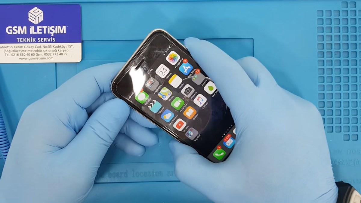 iPhone Güç ve Ses Açma - Kapama Tuşu Değişimi Nasıl Yapılır