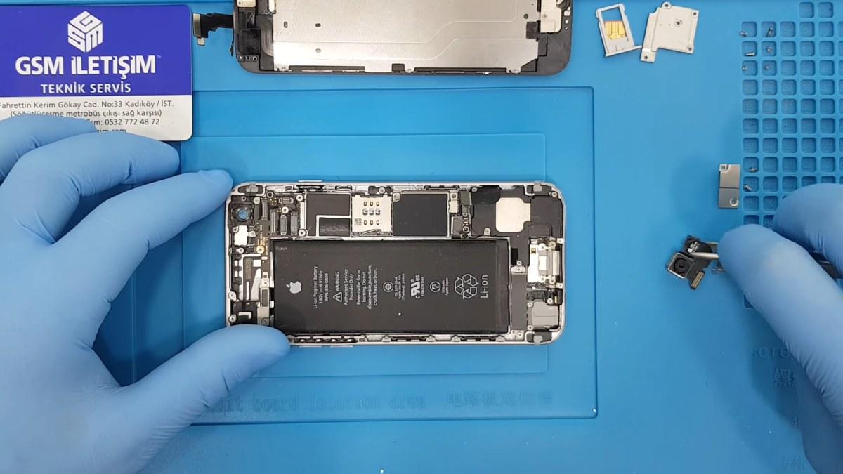 iPhone 6 Arka Ön Kamera Değişimi Nasıl Yapılır