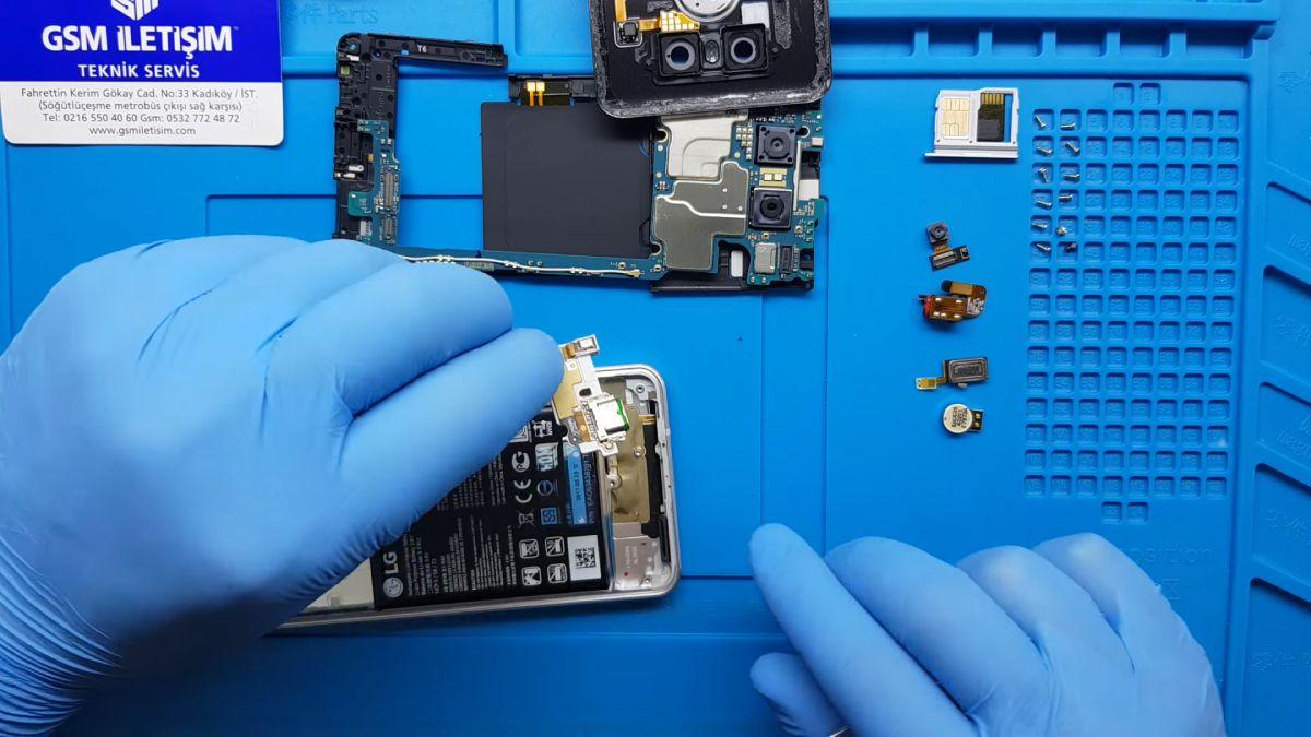 LG G6 Şarj Olmuyor Sorunu