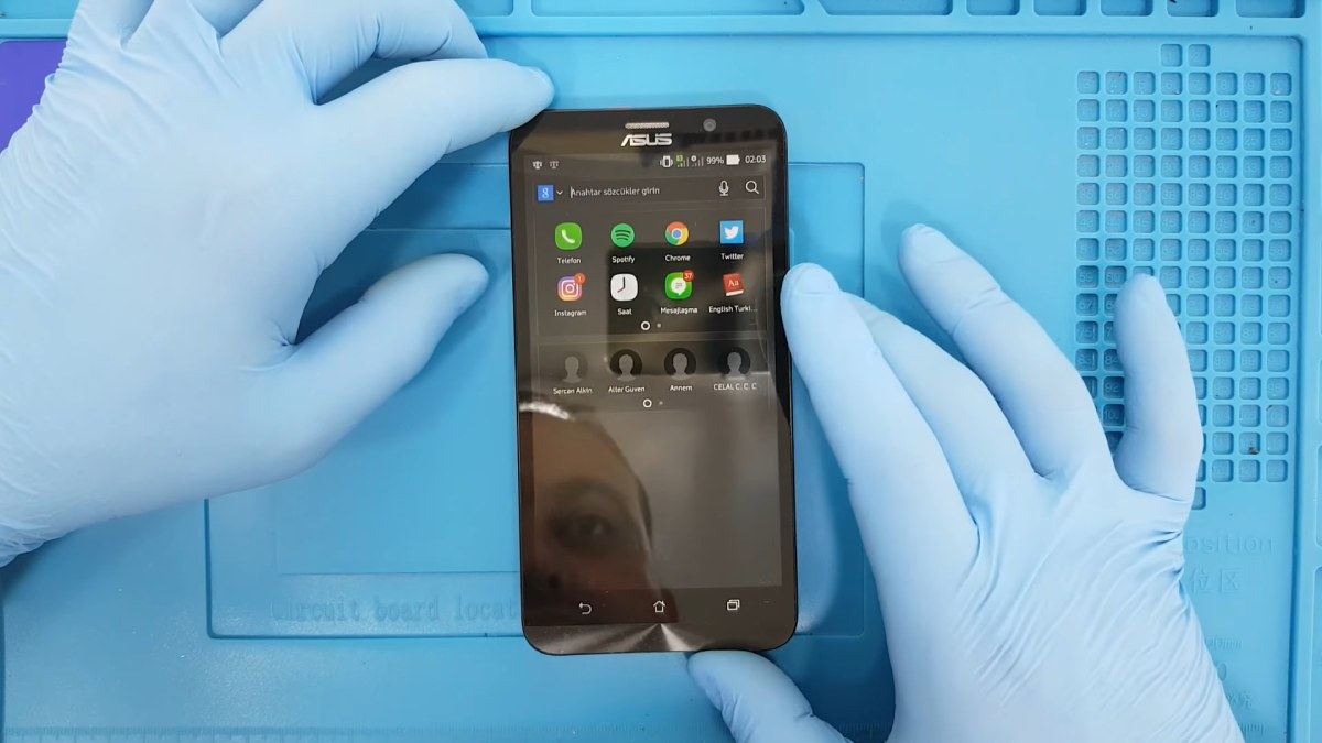 Asus Zenfone 2 Mikrofon Soketi Değişimi Nasıl Yapılır