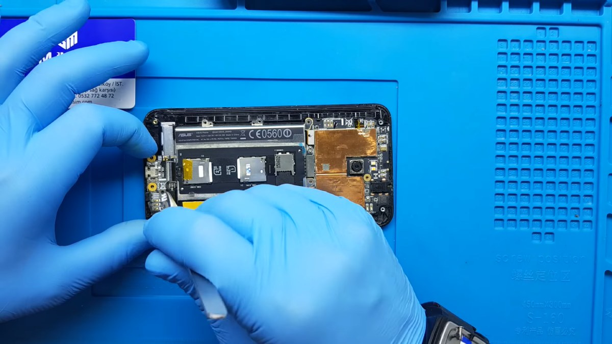 Asus Zenfone 2 Şarj Soketi Değişimi Nasıl Yapılır