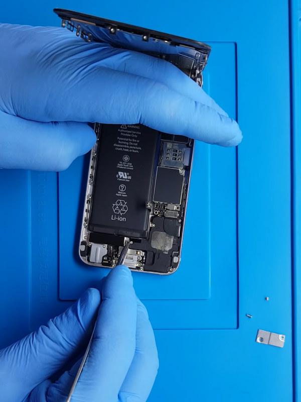 iPhone 6s şarj soketi değişimi temassızlık sorunu çözümü