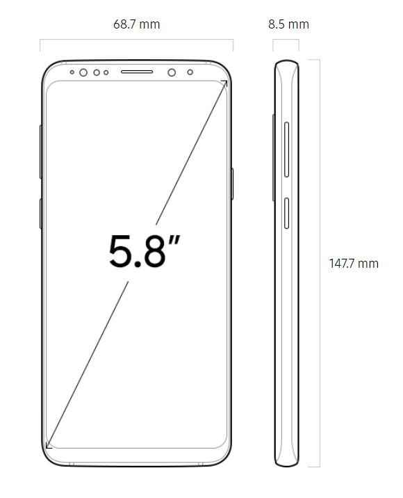 Samsung Galaxy S9 Ekran Boyutu