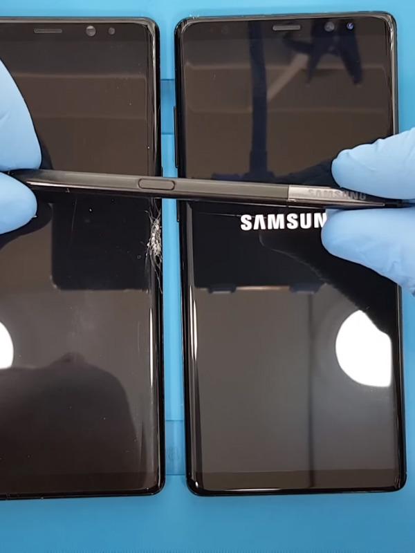Samsung Galaxy Note 9 ekran değişimi nasıl yapılır
