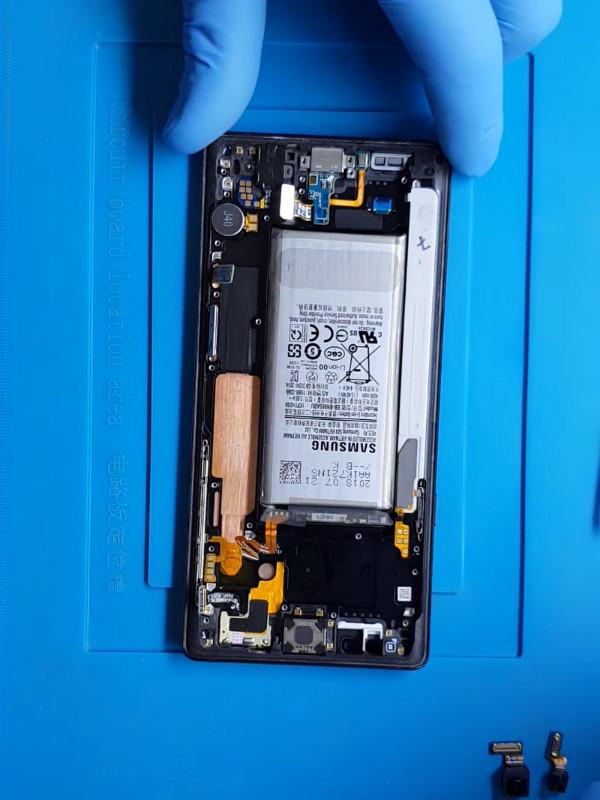 Samsung Galaxy Note 9 şarj soketi değişimi nasıl yapılır