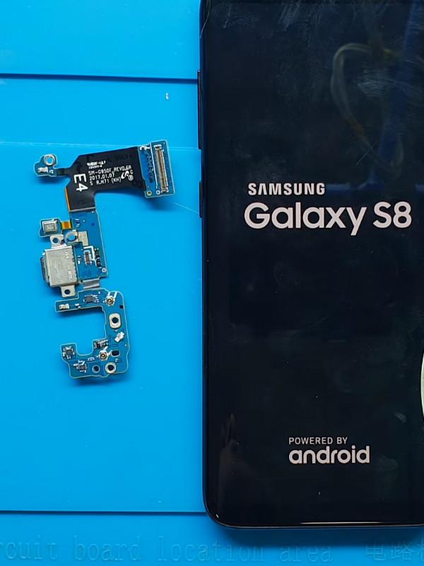 Samsung Galaxy S8 şarj soketi değişimi nasıl yapılır