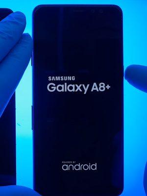 Samsung Galaxy A8 Plus ekran değişimi sonrası