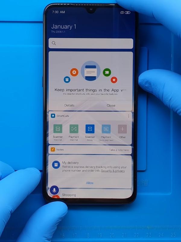 Xiaomi Mi 9 ekran değişimi teknik servisi