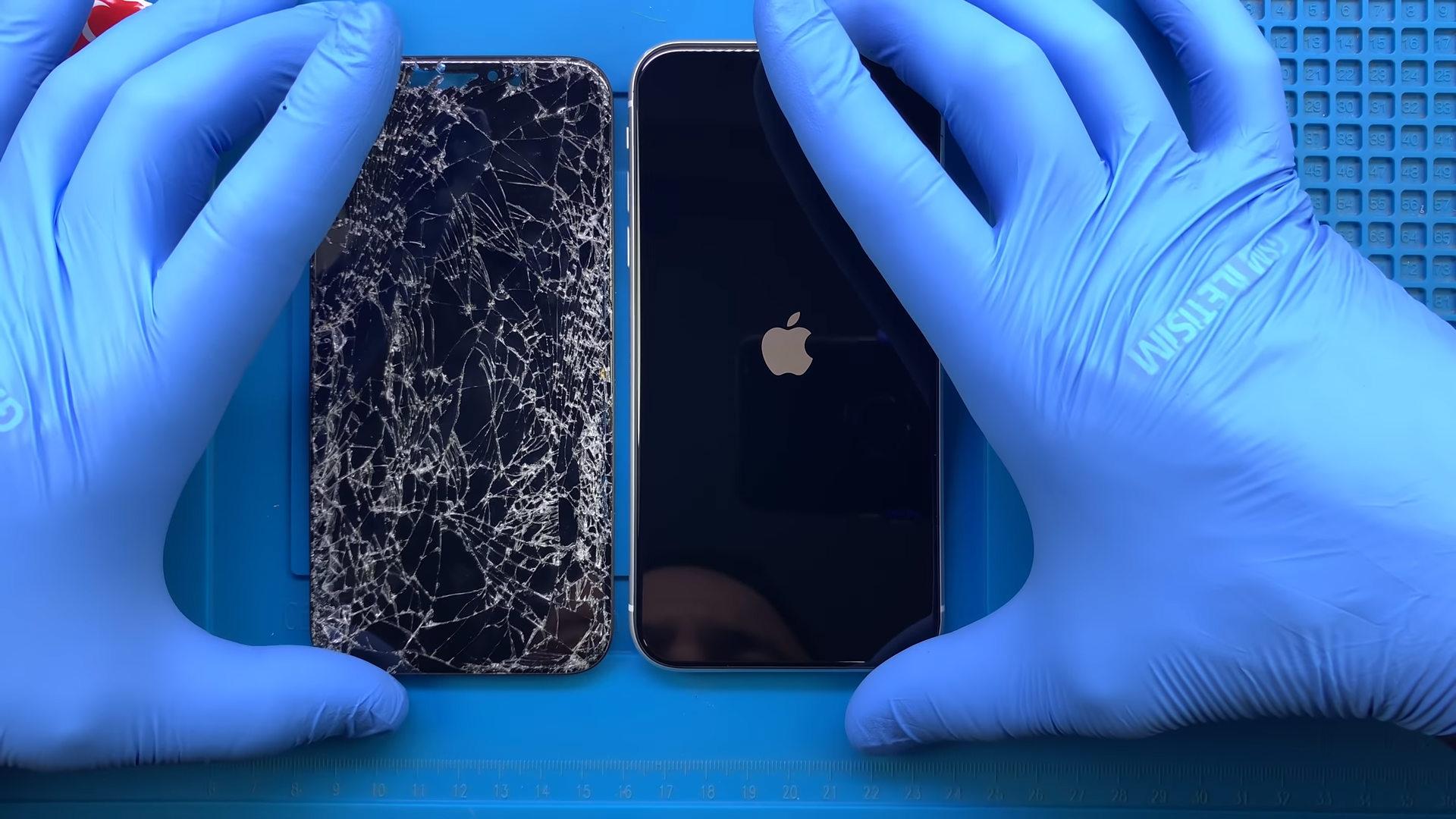 iPhone 11 dokunmatik ekran cam değişimi