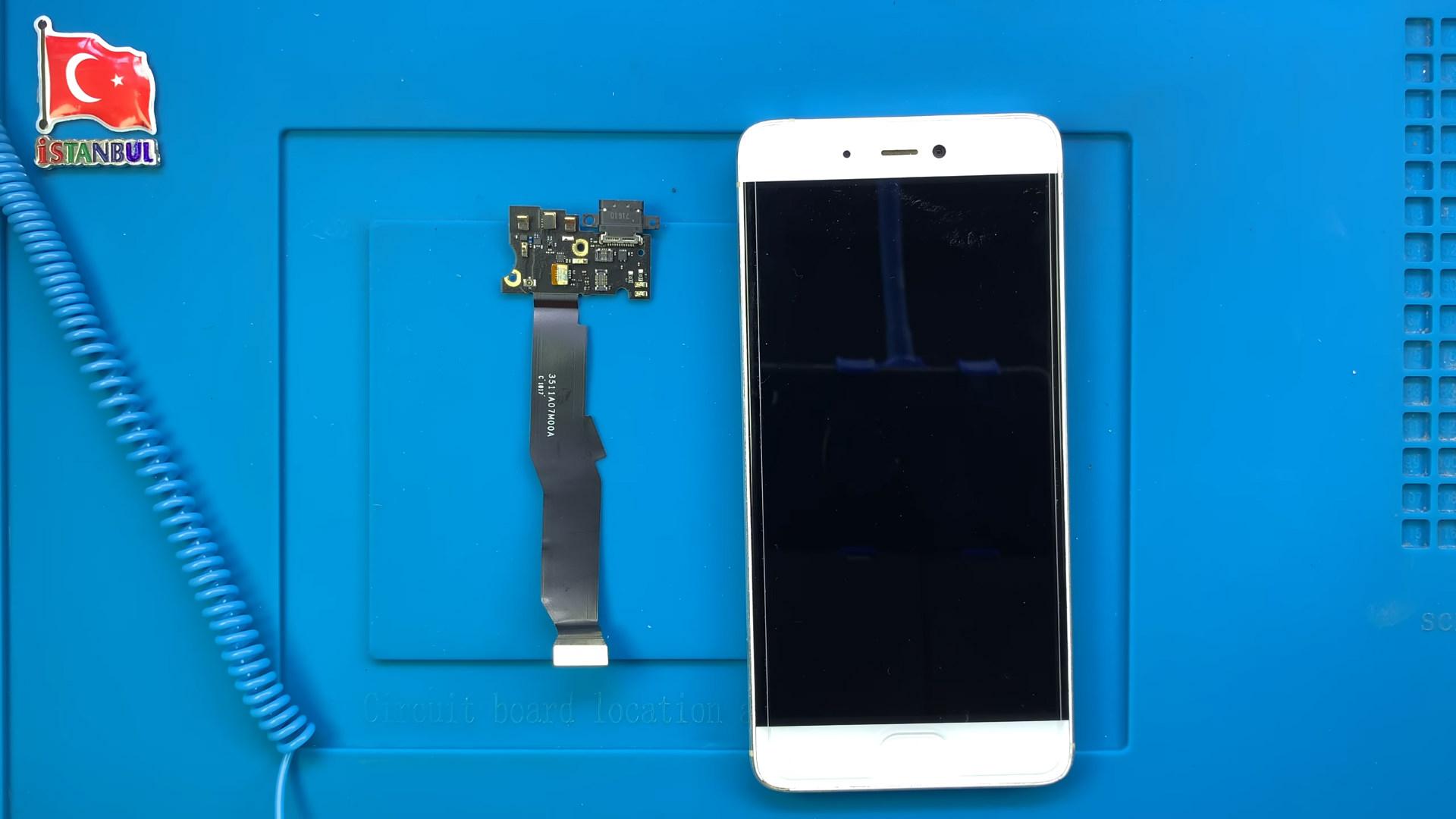 Xiaomi Mi 5s şarj soketi değişimi nasıl yapılır